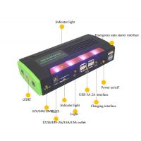 Chinese factory jump starter power bank with LED light