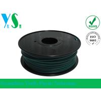 Quality Professional 1.75mm Green PLA 3D Printer Filament YouSu For Makerbot for sale