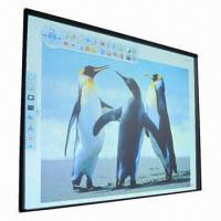 China CCD 80-inch Support Multi-finger Touch High Resolution 32767 x 32767 Interactive Whiteboard wholesale