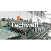 China Easy Operation Customized Steel Metal Sheet Decking Floor Roll Forming Machine wholesale