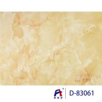 China Blue Sky Wear Resistance PVC Decorative Film , Pvc Ceiling Film Simulation Of Marble wholesale