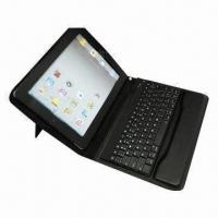 China Bluetooth Keyboard Case for iPad 2 and New iPad, with Optional Embossed/Silkscreen Logo and 60pcs wholesale