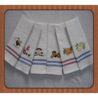 China hot sale good quality embroidered branded kitchen tea towels wholesale wholesale