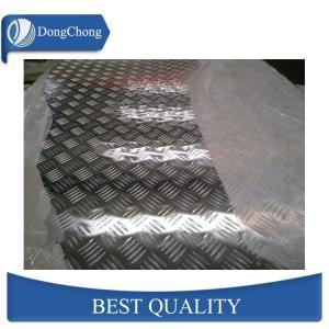 China Custom Size Embossed Diamond Tread Plate Aluminum Sheets Curtain Wall Use wholesale