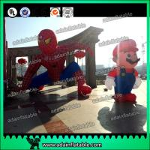 China Custom Inflatable Spider Man Event Inflatable Spiderman Model Mario Cartoon wholesale