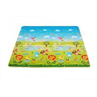 China Double Sided Baby Crawling Mat Infants / Baby Floor Play Mat Water Resistance on sale