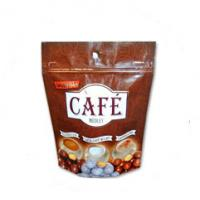China Custom Size Tea Bags Packaging PE Resealable Stand Up Pouches With Zipper wholesale