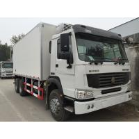 Quality Refrigerated Box Truck With Euro III , Refrigerated Delivery Truck 6X4 for sale
