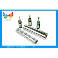 Single Coating Side Metallized Plastic Film Recycled Pulp Style For Beer Label for sale