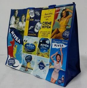 China Promotion Non Woven Cartoon Shopping Bag / PP Non Woven Bag eco friendly wholesale