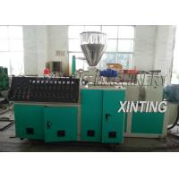 China Double Screw PVC Pipe Production Line 90-420kw Durable For Drainage Pipe wholesale