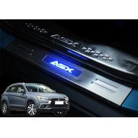 China Mitsubishi ASX 2013 2017 Steel Side Door Sill Scuff Plates with LED Light wholesale