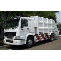 China White Color 12m3 Garbage Compactor Truck SINOTRUK HOWO 4x2 6000L Volume wholesale