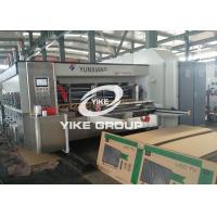 China Automatic Water Ink Two Color Flexo Printing Machine For Corrugated Boxes Usage wholesale