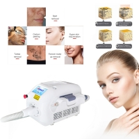 China FDA 5NS Q Switched Nd Yag Laser Tattoo Removal wholesale