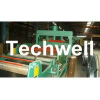China 4 - 8m/min Steel Silo Corrugated Wall Panel Roll Forming Machine For Galvanized Sheet wholesale