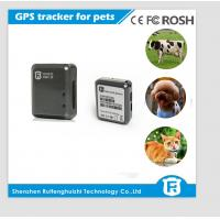 China GSM/GPRS Dual Position GPS Pet Tracker, GPS Dog Tracker wholesale