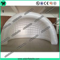 China Large Cube Inflatable Event Tent Outdoor Inflatable Cube Tent With Blower wholesale