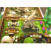 China Artificial 2D 3D Dinosaur Theme Design For Amusement Park Shopping mall on sale
