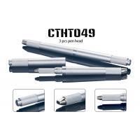 China 3 Heads Metal 3D Manual Tattoo Pen 7 9 11 12 14 17 18 U 21 Pin Blade wholesale