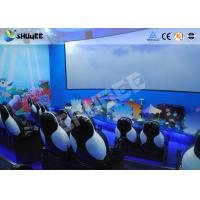China Mobile Seating Chairs 5D Cinema System Spray Air / Spray Water 5D Motion Simulator wholesale
