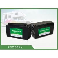 China 19.8Kg Smart Lithium Battery , 200ah 12 Volt Rv Battery Deep Cycle Bluetooth Connection wholesale