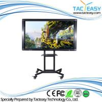 China High Brightness Large Touch Screen Tv Monitor , 75 Inch Interactive Lcd Screen wholesale