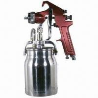 China Spray Gun with Cup, Red Handle, 1.8mm Nozzle on sale