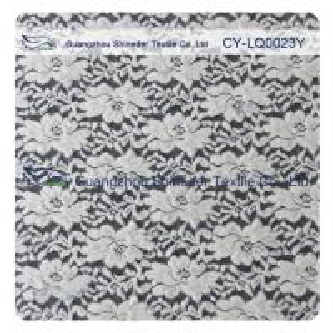 China Thick Brushed Bridal Lace Cotton Nylon Fabric For Lady Winter Dress wholesale