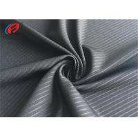 China Embossed Polyester Lycra Fabric , Weft Knitted Fabric , T-shirt Material wholesale