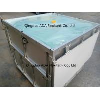 China Foldable Iron IBC with capacity ffrom 800 liters to 1200 liters Reusable ADA Flexitank wholesale