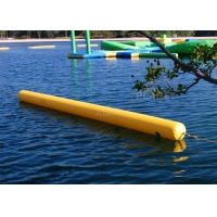 China Triathlon Water Games Used Floating Long Tube Inflatable Cylinder Training Buoy For Water Park Racing Marks wholesale