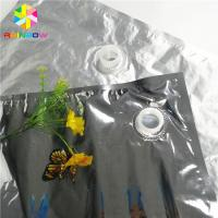 China 5L 10L Aluminum Foil Laminated Spout Bags Packaging Custom Water Oil Wine Applied wholesale