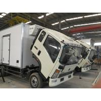 Quality 20 Ton Refrigerator Box Truck 4x2 For Milk Transport Temperature -20 ℃ for sale