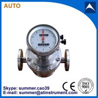 China Oval gear transmitter pulse output stainless steel flow meter with reasonable price wholesale