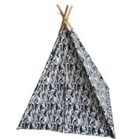 China Fast Up Kids Indoor Teepee Easy Foldable Eco - Friendly Fabric Space Saving wholesale