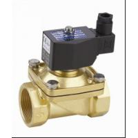 China Electric Air Solenoid Valve , Air Actuated Solenoid Valve Normally Closed 2 Inch wholesale