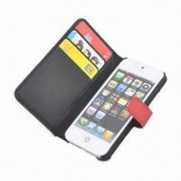 China Smartphone Case with Card Holder, Suitable for iPhone 5/New iPhone, Keep in Stock, MOQ is 100pcs wholesale