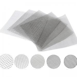 China 100 Mesh Inconel 600 625 Fine Woven Wire Mesh Filter Screens 0.15 - 2mm Aperture wholesale