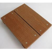 China Antislip WPC Deck Flooring For Garden , Lawn , Balcony 140mm*25mm wholesale