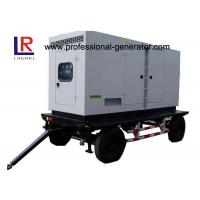 China Low Noise 8kw to 500kw Diesel Mobile Power Generator with AC 3 Phase Digital Control Panel on sale