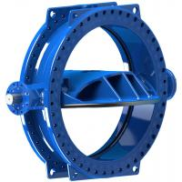 Stainless Steel Disc Ring Double Eccentric Butterfly Valve Wore Gear Operated