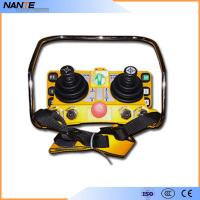 China Double Joystick Remote Control Wireless Hoist Remote Control 5 Level IP65 wholesale