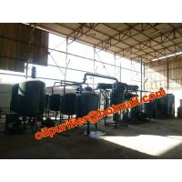 Buy cheap New Sale Black Oil Recycling Equipment,Car Engine Oil Distillation Equipment from wholesalers