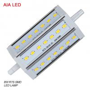 China LED-R7S-8034 AC85-265V 8W 5630 SMD LED R7S LED Lamp/ LED bulb for IP65 waterproof led flood light wholesale