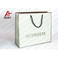 China Handmade Custom Color Print Shopping Recycle Paper Bag With UV Finishing wholesale