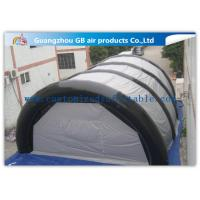 China 4 Doors Durable PVC Inflatable Work Tent Passage Airtight Tent for Sports Game wholesale