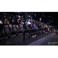 China Elegant 3 Degrees Of Freedom Interactive 5D Cinema Chair With 12 Special Effects wholesale