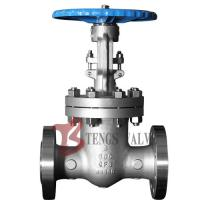 China A351 CF8 / CF8M Cast Steel Gate Valve , Double Flanged Gate Valve With Handwheel wholesale