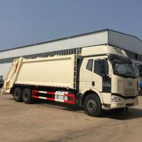China 5800 + 1350mm Wheel Base Garbage Compression Truck Durable And Long Service Life wholesale